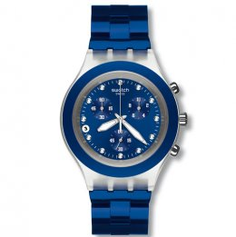 swatch irony svck4055ag full-blooded navy unisex