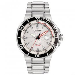 men`s silver stainless-steel watch