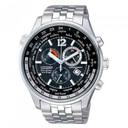 eco-drive men stainless steel