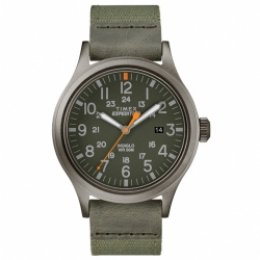 timex tw4b14000 expedition scout 40mm fabric strap